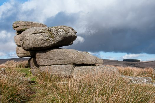 Black Tor above the River Meavy, Dartmoor