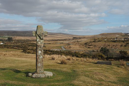 Cadover Stone Cross, Dartmoor