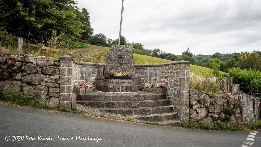 Image of Lustleigh war memorial